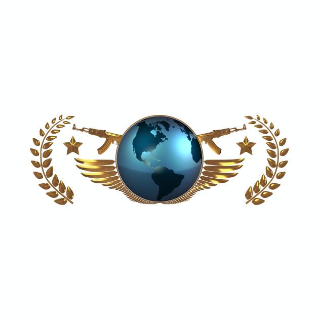 CS GO The Global Elite (Simple/Clean)