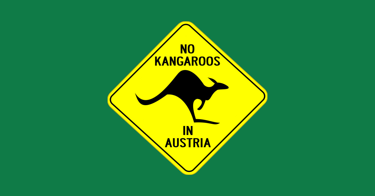 Image result for no kangaroos in austria