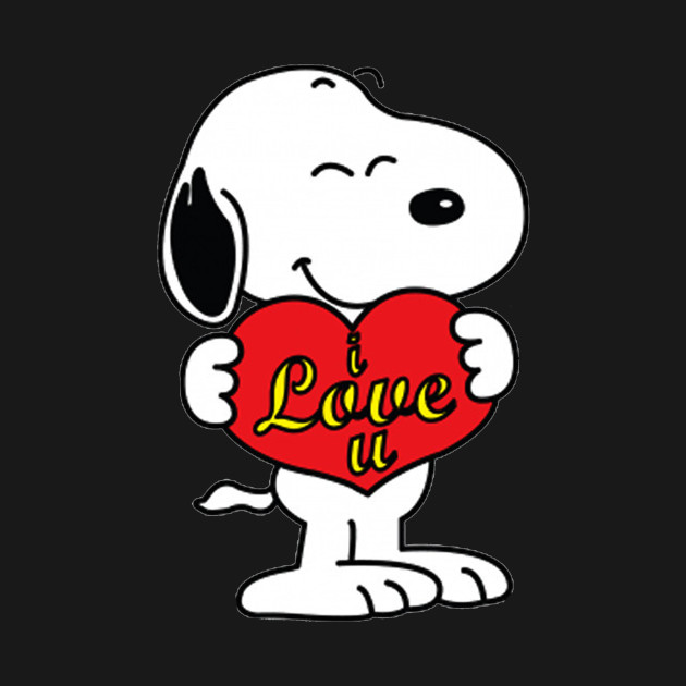 Snoopy Love - Snoopy - T-Shirt