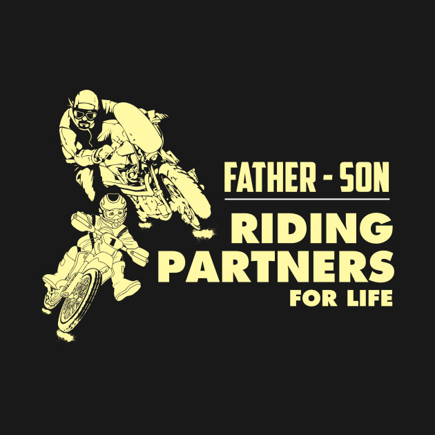Matching Father Son gift Riding Partners Fathers day gifts