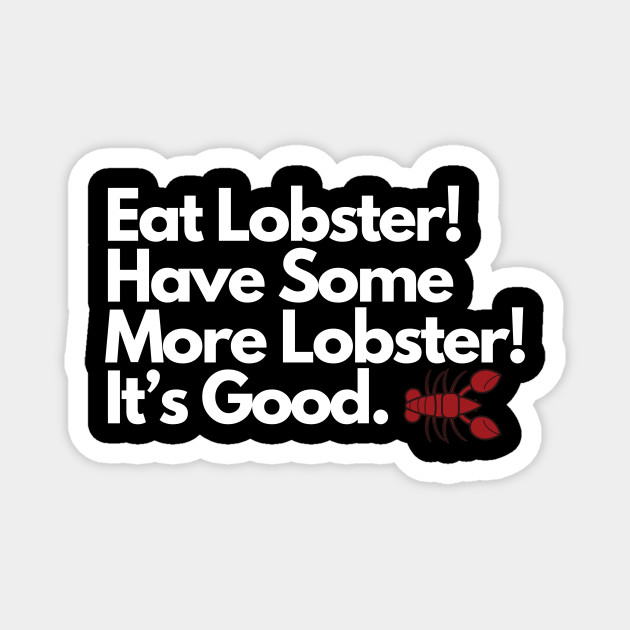 Eat Lobster Design