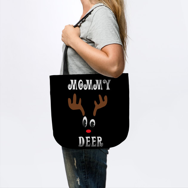 Mommy Reindeer Deer Red nosed Christmas Deer Hunting Hobbies Interests