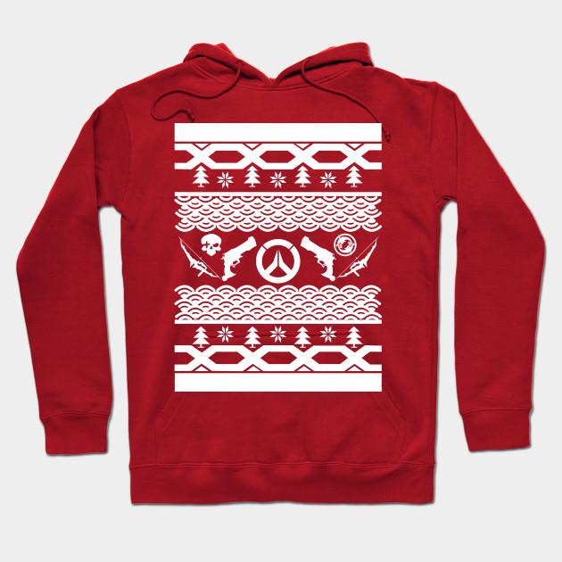 Mchanzo Ugly Christmas Sweater Overwatch Hoodie Teepublic