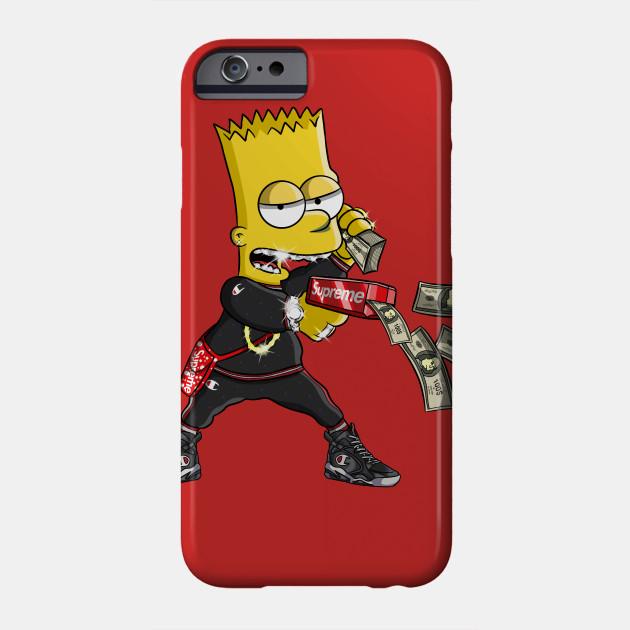 Dope Bart - Bart Simpson - Phone Case | TeePublic AU