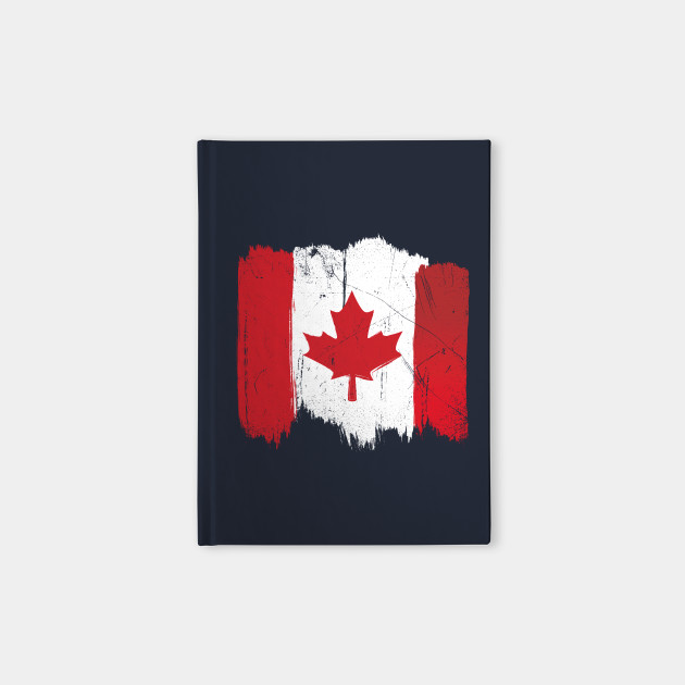 Canadian Flag: Distressed Paint
