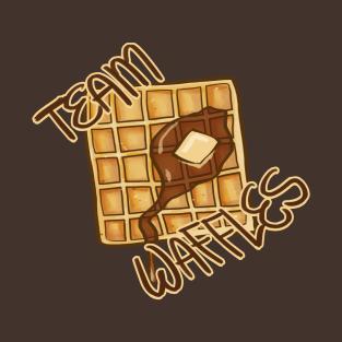 Team Waffles t-shirts