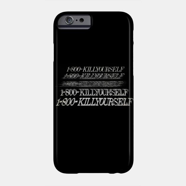 1 800 killyourself dark humor memeshirt aesthetic af phone case teepublic 1 800 killyourself dark humor memeshirt