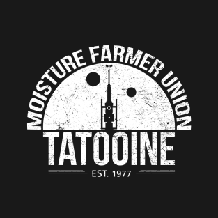 Moisture Farmer Union t-shirts