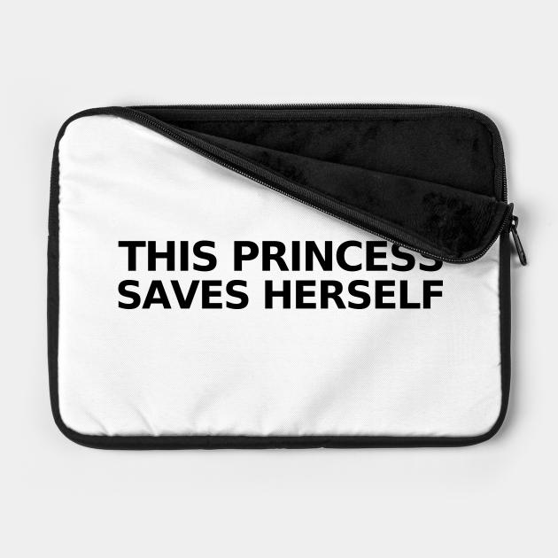 This Princess Saves Herself