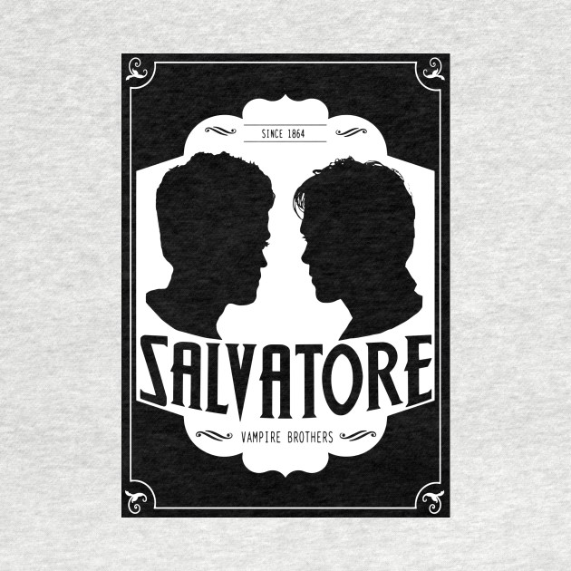 The Vampire Diaries Salvatore Brothers Vintage