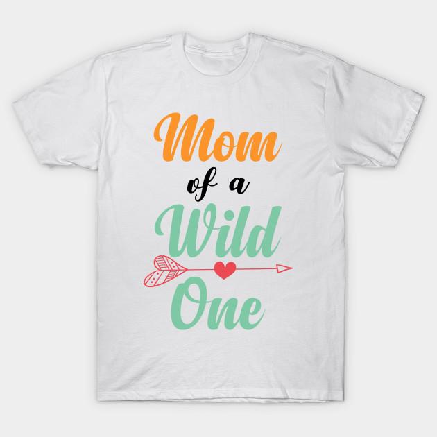 Dad Mom Wild One Matching Family Boho Birthday Shirts T Shirt