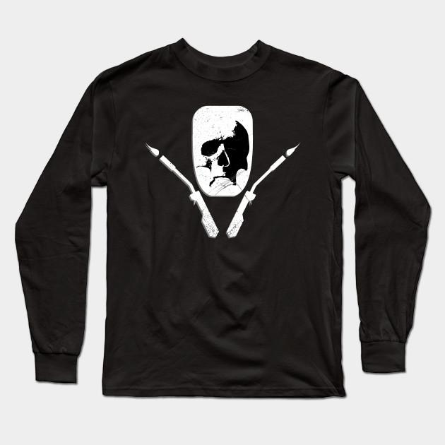 c9da1155 Skull Welding Mask - Welder - Long Sleeve T-Shirt | TeePublic