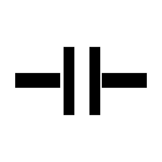 LIMITED EDITION. Exclusive Capacitor Symbol Image - Capacitor Symbol ...