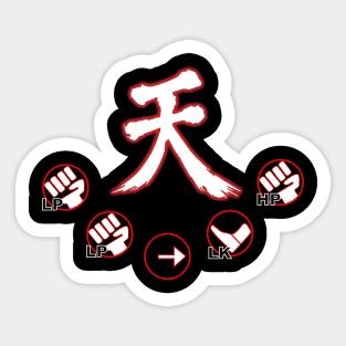 RYU MAIN Vinyl Decal Car Laptop Sticker SFV Street Fighter 5 eSports