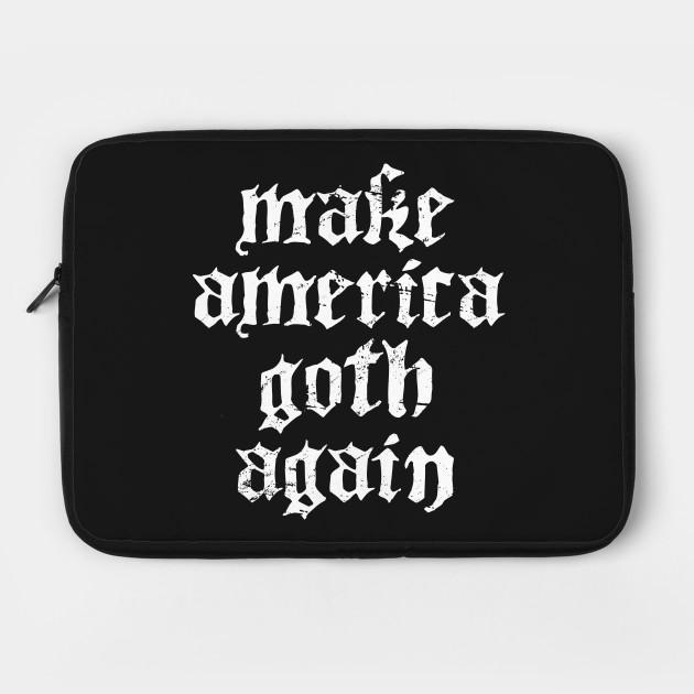 Funny American Goth Design