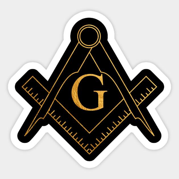 Great Architect Of The Universe Gaotu Freemasonry Golden Symbol