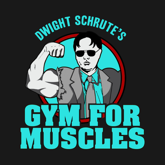 e4092135 Dwight Schrute's Gym for Muscles - Dwight Schrutes - Kids T-Shirt ...