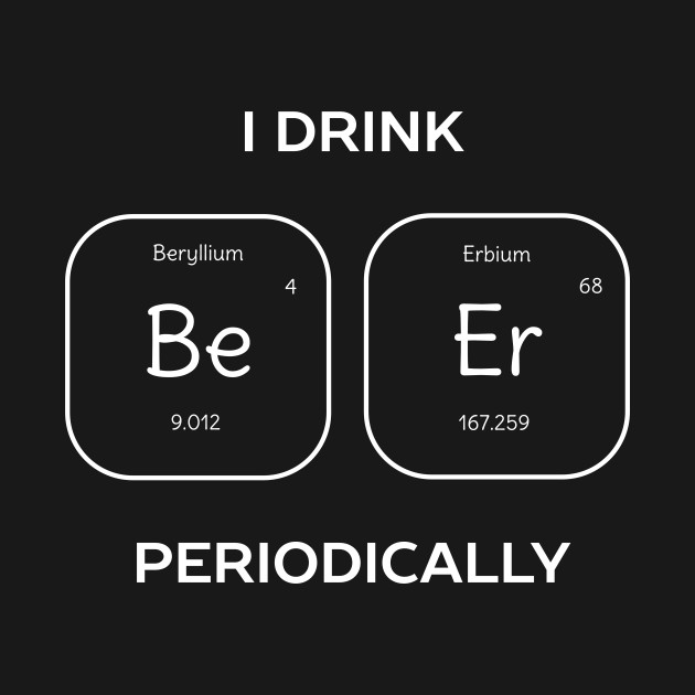 Funny Beer Science T-Shirt