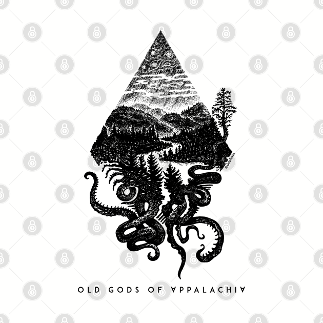 Old Gods of Appalachia: Fauna and Flora (by @aleks7even – dark print)