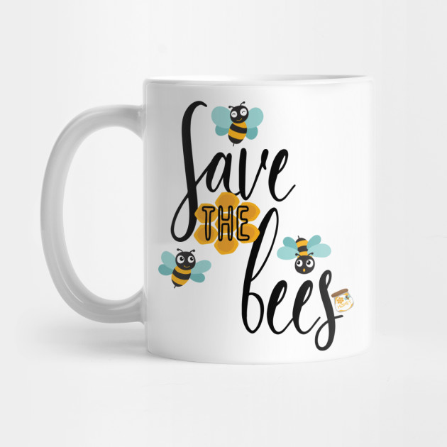 Save The Bees Planet Earth Day Beekeeper Beekeeping Bees Mug