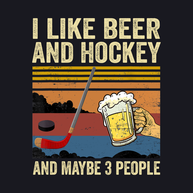 I like Beer and Hockey and maybe 3 people