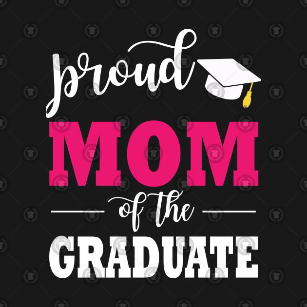Proud Mom Of The 2019 Graduate Funny Cap Graduation