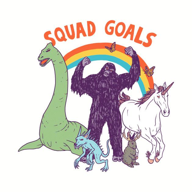 Squad Goals: Cryptids