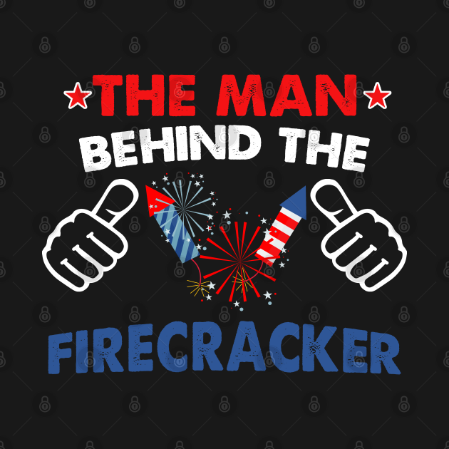 Funny 4th Of July Firecracker Man