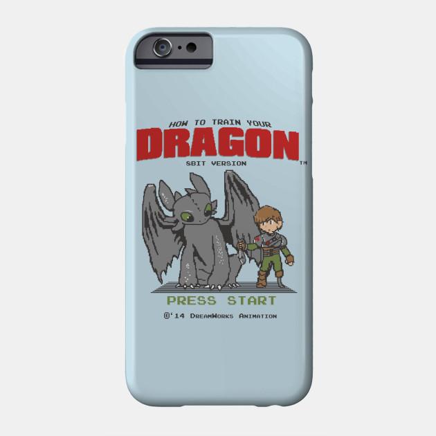 d128943d How To Train Your Dragon 8Bit Version - Mashup - Phone Case   TeePublic
