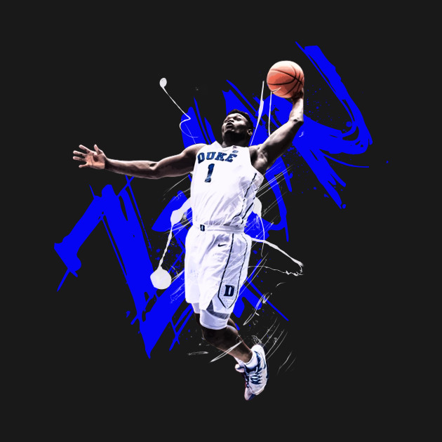 804f0870c715 Zion Williamson - Zion Williamson Zion Nba Basketball Duke Blue ...