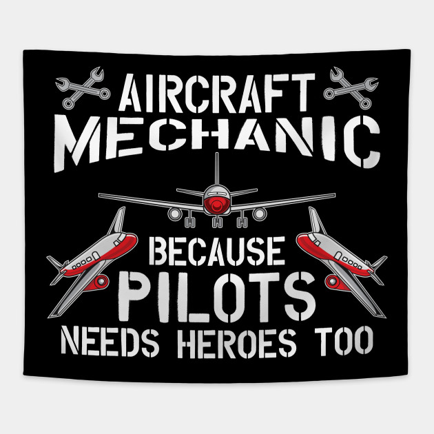 2e99e063b Funny Aircraft Mechanic Pilot Hero T-Shirt Gift - Aircraft Mechanic ...