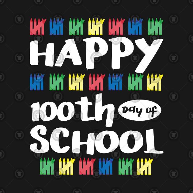 100th Day Of School Shirt Happy Funny Child Teacher Student