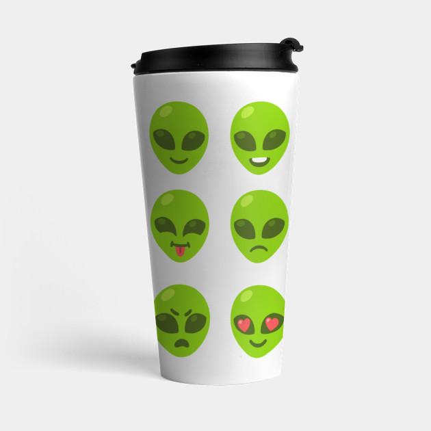 Alien emoji set by sudowoodo