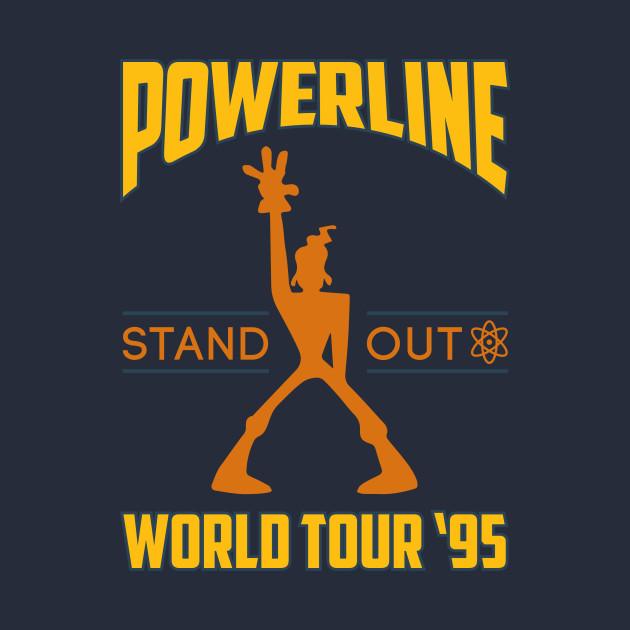 Powerline Concert Tee