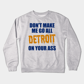 low priced 363e8 f232f Detroit Tigers Crewneck Sweatshirts | TeePublic