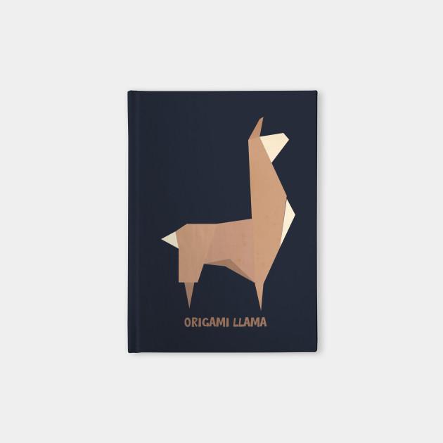 Origami Llama Llama Notebook Teepublic