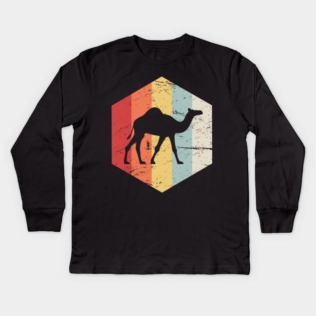 3692c00a Retro 70s Camel - Camel - Kids Long Sleeve T-Shirt | TeePublic