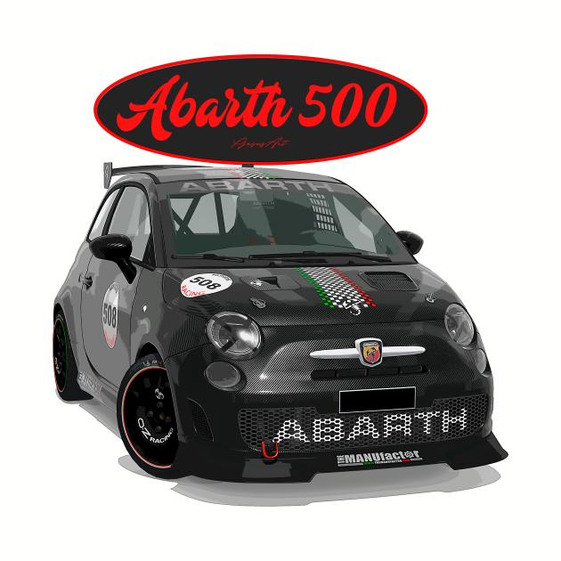 ABARTH 500 508