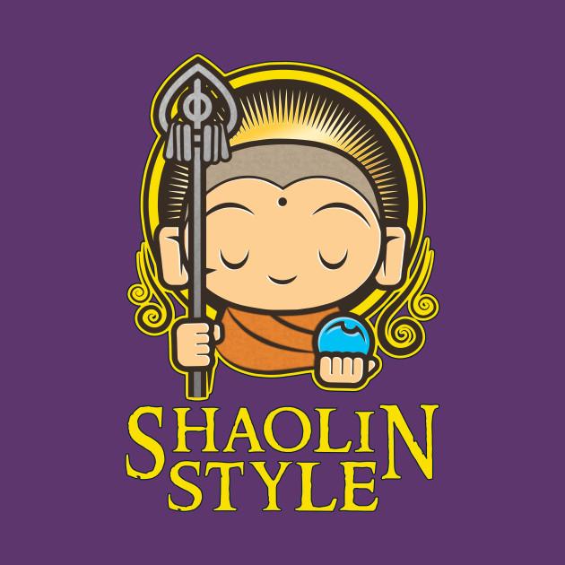 Nerdy Tee - Shaolin Style