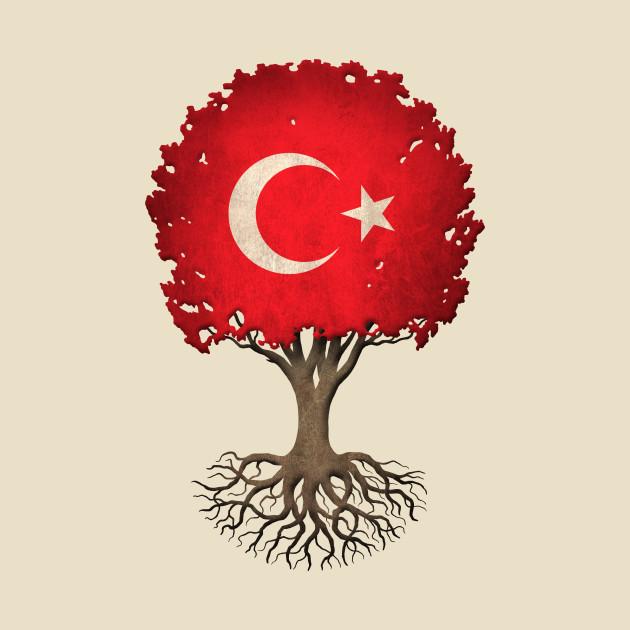 tree of life with turkish flag turkey t shirt teepublic