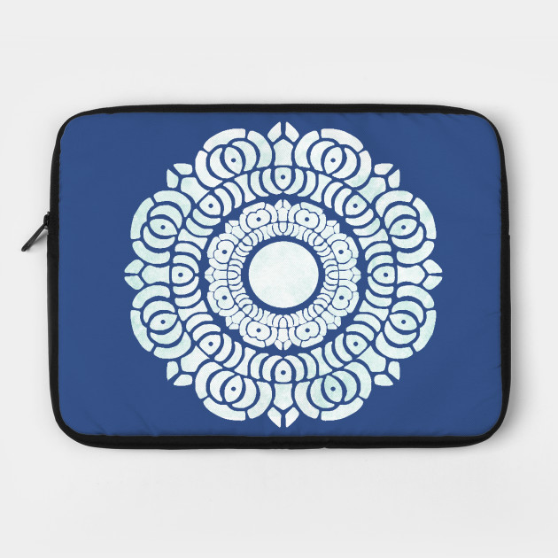 White Lotus Symbol Avatar The Last Airbender Laptop Case Teepublic