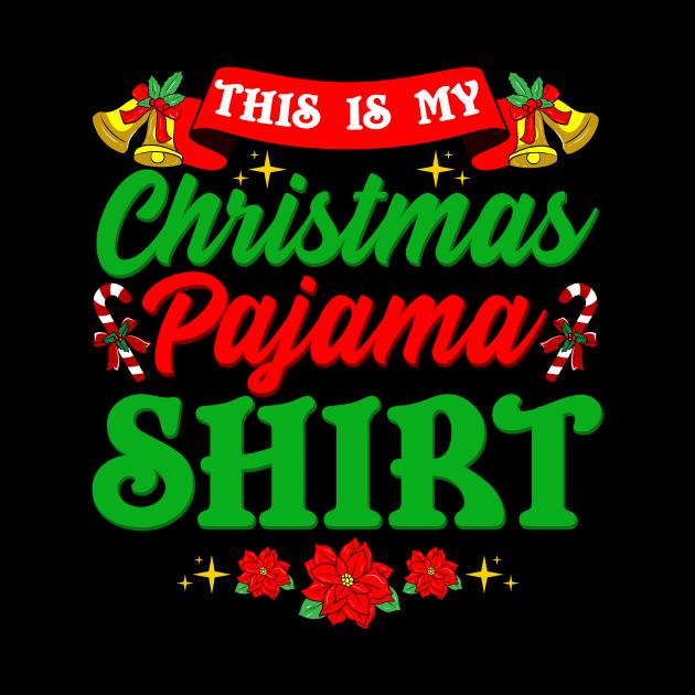 This is My Christmas Pajama Design Xmas Gift Funny Design
