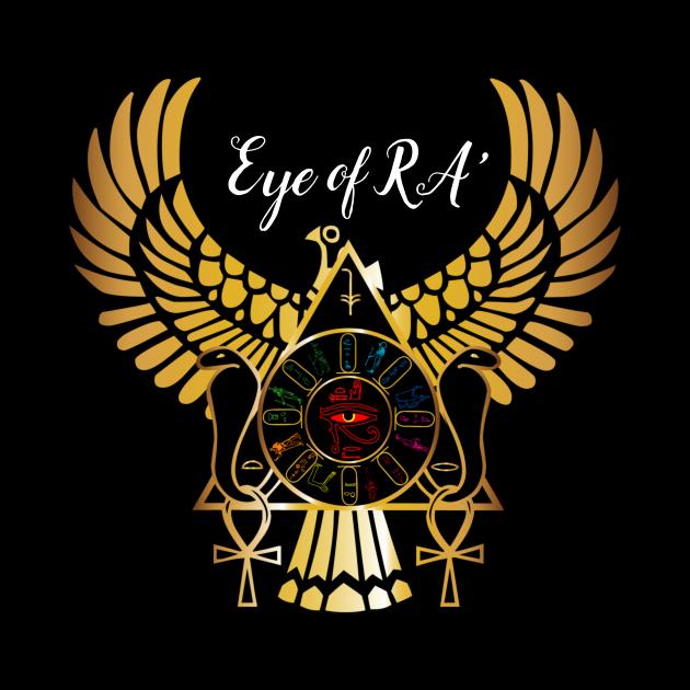 cool t shirts, eye of Ra.