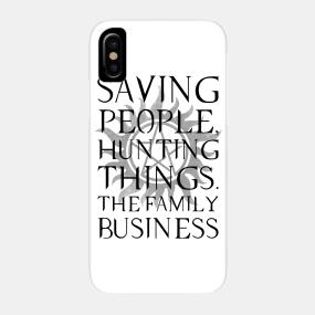 sale retailer a9793 b6d05 Supernatural Phone Cases and original SPN designs | TeePublic