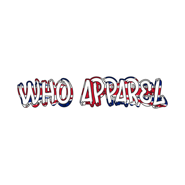 WHO Apparel UK (Black Outline)