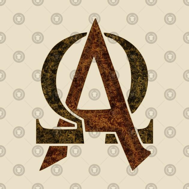 Greek Alphabet - Letter Alpha Omega 2