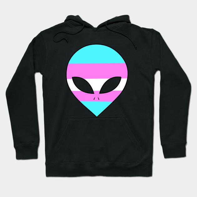7c5d91071 Pride Alien (Trans Pride) - Lgbt - Hoodie | TeePublic
