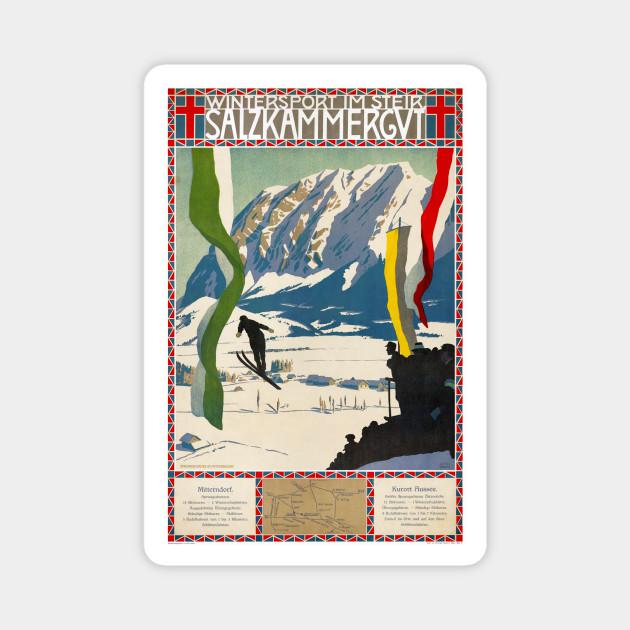 Austria Vintage Travel poster reproduction