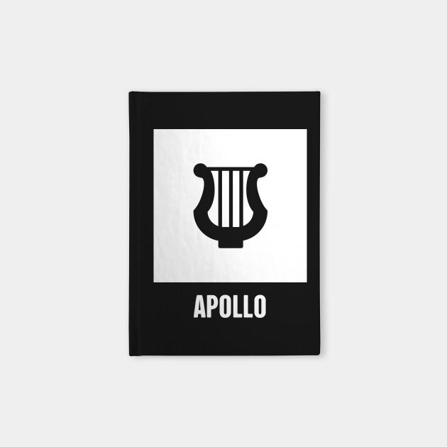 Apollo Greek Mythology God Symbol Greek Mythology Notebook