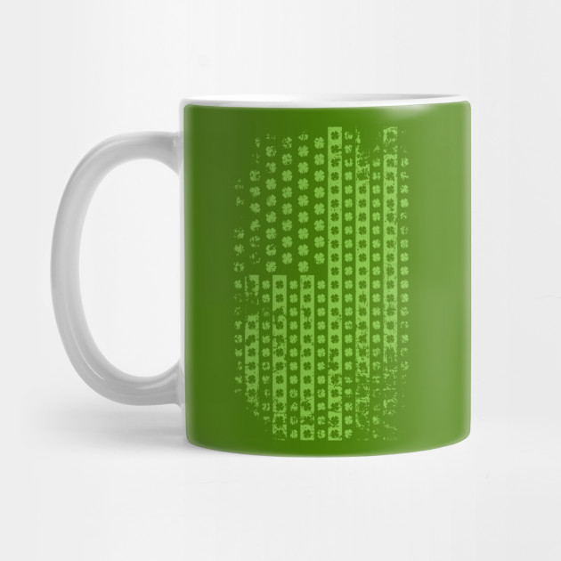 Saint Patrick's Day American Flag Design Party Costume Mug